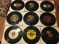 Conway Twitty 45 Lot: Its Only Make Believe/ There's A Honky Tonk Angel..VG+-EX