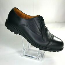 Timberland Dress Shoes Cap Toe Oxford Mens Size 9 M Waterproof Black 96082