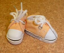 Doll Shoes, 47mm YELLOW Sneakers - Bitty Bethany, Ann Estelle