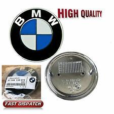 BMW BONNET BADGE 82MM E36 E46 E90 E91 E92 E60 E81 X3 X5 1 3 4 5 M  Z Series OEM