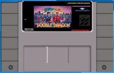 Super Double Dragon SNES Super Nintendo USA NTSC video game cartridge