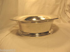 Bowl Sterling Silver 10 x 3 inches Quaker P9820 Vintage Sterling Bowl 444 grams