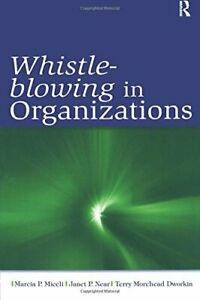 Whistle-Blowing in Organizations, Miceli, P. 9780805859898 Fast Free Shipping,,