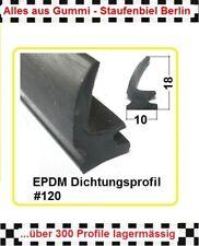 Dichtung Türdichtung 616.01 aus BERLIN € 10,95//m 1,5m Gummidichtung Moosgummi