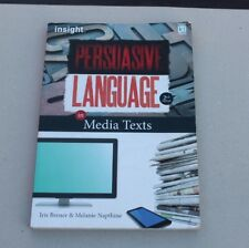 INSIGHT PERSUASIVE LANGUAGE IN MEDIA TEXTS, USED TEXT BOOK, IN GOOD CONDITION