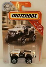 2019 Matchbox White 1976 International Scout 4x4 HTF