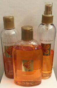 Victoria's Secret AMBER ROMANCE Bath Bubbles Shower Gel Body Splash 8 oz AS IS