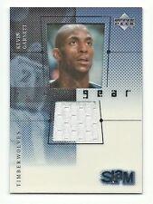 Kevin Garnett Timberwolves 2000 Upper Deck Flight Gear Slam Game-Used Patch Card