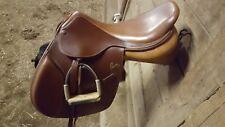 """Pessoa 18"""" English Saddle Long Flap Medium Tree 456893"""