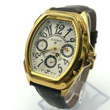 LUCH Favorit President Gift Belarus Luxury Men's Quartz Wristwatch Rare Day Date