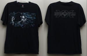 RARE Vintage DEFCON 20 (2012) Giant R/C Robot T-shirt: Black, L rc radio control