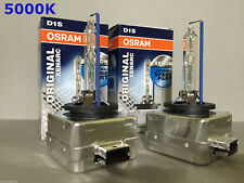 2PCS NEW OEM OSRAM XENARC D1S 66144 66140 5000K HID XENON LIGHT BULBS SET
