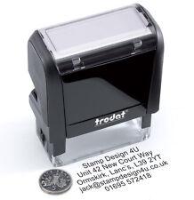 Personalised Garage TIMBRO auto inchiostrazione un servizio eccellente & cronologia ecc.
