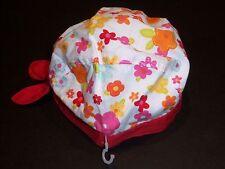 Nwt Gymboree Fiesta! Fiesta 3-6 Months Flower Bandana Cap Hat