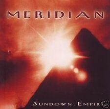 "MERIDIAN ""Sundown Empire"" 1996 (CD) Meridian Music"