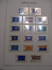 United States Scott  1633 through 1682, the 50 state flags MINT