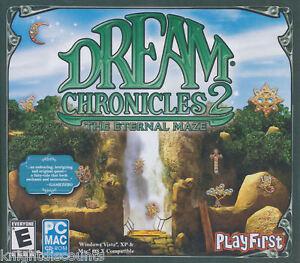 DREAM CHRONICLES 2 II The Eternal Maze Adventure PC MAC Game NEW!