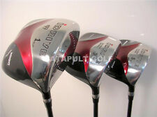 NEW SQUARE DRIVER 3, 5 WOODS GOLF CLUBS GRAPHITE RH 811