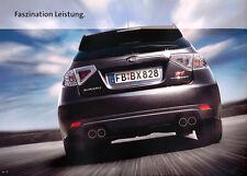 Subaru - Impreza WRX STI -  Prospekt - 01/08 - Deutsch - nl-Versandhandel