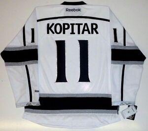 ANZE KOPITAR LOS ANGELES KINGS REEBOK NHL PREMIER JERSEY NEW WITH TAGS