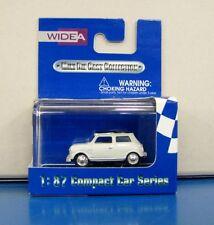WIDEA 1/87 Compact Car Series Morris Mini Cooper White & Black
