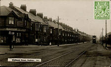 Walker, Newcastle. Welbeck Road & Tram by Monarch # 3606.