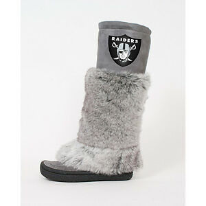 Oakland Raiders Devotee Boots By Cuce Shoes