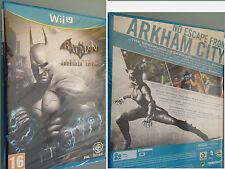 Batman Arkham City Armoured Edition Nintendo Wii U Spiel DEUTSCH spielb. NEU OVP