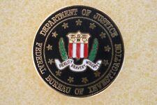US USA Department of Justice FBI Patriotic Hat Lapel Pin