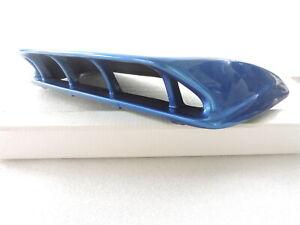 New Blue FRP Tall Hood Bonnet Scoop for 2004 2005-04-05-Impreza GDB WRX STi