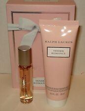 Ralph Lauren Tender Romance 0.5 oz Women's Perfume & 2.5 oz Body Moisturizer