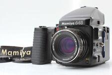 [Exllent 5] Mamiya 645 Pro w/Sekor C 80mm f2.8 Lens+120 film back from Japan 222