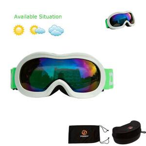Kids Goggles Snow Glasses Snowboard Ski Snowmobile Skate Winter Sport Eyewear