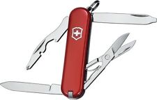 SWISS ARMY VICTORINOX 54031 RAMBLER RED MULTI FUNCTION POCKET KNIFE.