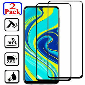 Full Cover Tempered Glass Screen Protector For Xiaomi Redmi Note 9S 9 8 7 Pro 8T