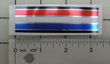 Iverson muscle bike Red-White-Blue-Black seatpost  decal