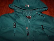 Under Armour ColdGear Infrared Softershell Jacket GREEN Women's XS ~ NWT $125