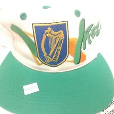 VTG Sportis Ireland World Cup 94 Spellout Snap-back Hat Cap NWT
