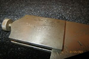 L.S. STARRETT NO.22 - 59 DEGREE DRILL POINT GAGE Owner Marks