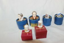 Job Lot Caverswall &  Fancesca Victoria fine china Thimbles