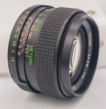 Vivitar 55mm F1.4 M42 Screw Mount Prime Lens For SLR/Mirrorless Cameras Tomioka