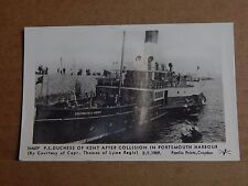 Postcard Paddle Steamer Duchess Of Kent  1960's Pamlyn Prints unposted XC1