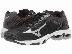 Mizuno Wave Lightning Z5 Volleyball Court Shoes Black/Silver/White 430263.9073