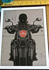 Eric Church Mini-Concert Poster Reprint for 2014 Pittsburgh PA14x10 Unsigned
