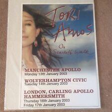 Huge Rare Tori Amos Original Tour Promo Pop Music Poster Memorabilia