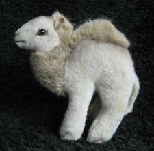 vintage 1977 German Steiff Hocky Dromedary plush camel stuffed toy