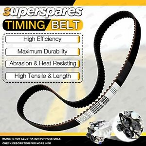 Superspares Camshaft Timing Belt for Honda Civic ES ET EU EP EV D17A6 1.7L