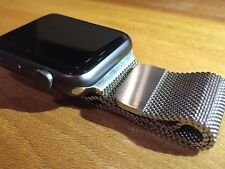 Stainless Steel Magnetic Clasp Apple Watch Band 38mm