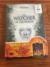 The Watcher in the Woods (DVD, 2004)very Rare With Disney Trick Or Treat Bag New