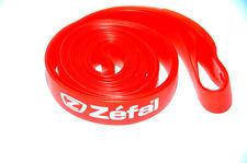 x2 - Fond de jante en PVC pour vélo VTT ZEFAL 26 x 18mm rouge - NEUF